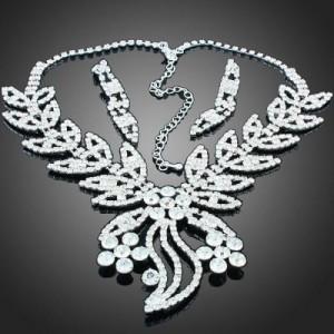 Luxusní set - náhrdelník + náušnice Swarovski krystal G0412