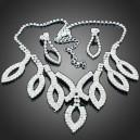Luxusní set - náhrdelník + náušnice Swarovski krystal G0405