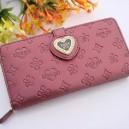 Dámská peněženka Anna Sui - fialová srdce B