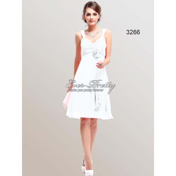 ... Andělsky jemné šaty na ramínka s květinou Ever Pretty 3266 - 4 barvy ... dba73c55ea