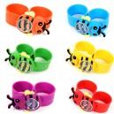 Dětské silikonové hodinky - VČELIČKY - 10 barev