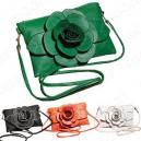 Dámská módní kabelka s květinou - hit sezóny - 4 barvy
