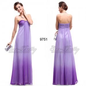 Skvostné fialové společenské šaty Ever Pretty 09751