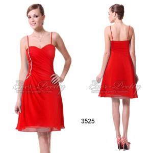 Svůdné červené plesové šaty Ever Pretty 3525 - Angel fashion 951f22aa52