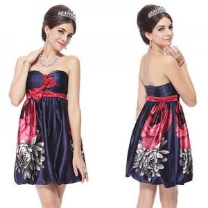 Hravé společenské šaty Ever Pretty s květy 3330 - Angel fashion 64e6e6633e