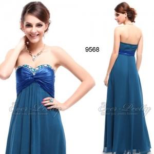 Šifónové společenské šaty Ever Pretty bez ramínek 9568 - 3 barvy ... 5fb9c6072d